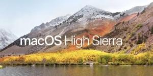 Mise à Jour macOS 10.13 High Sierra